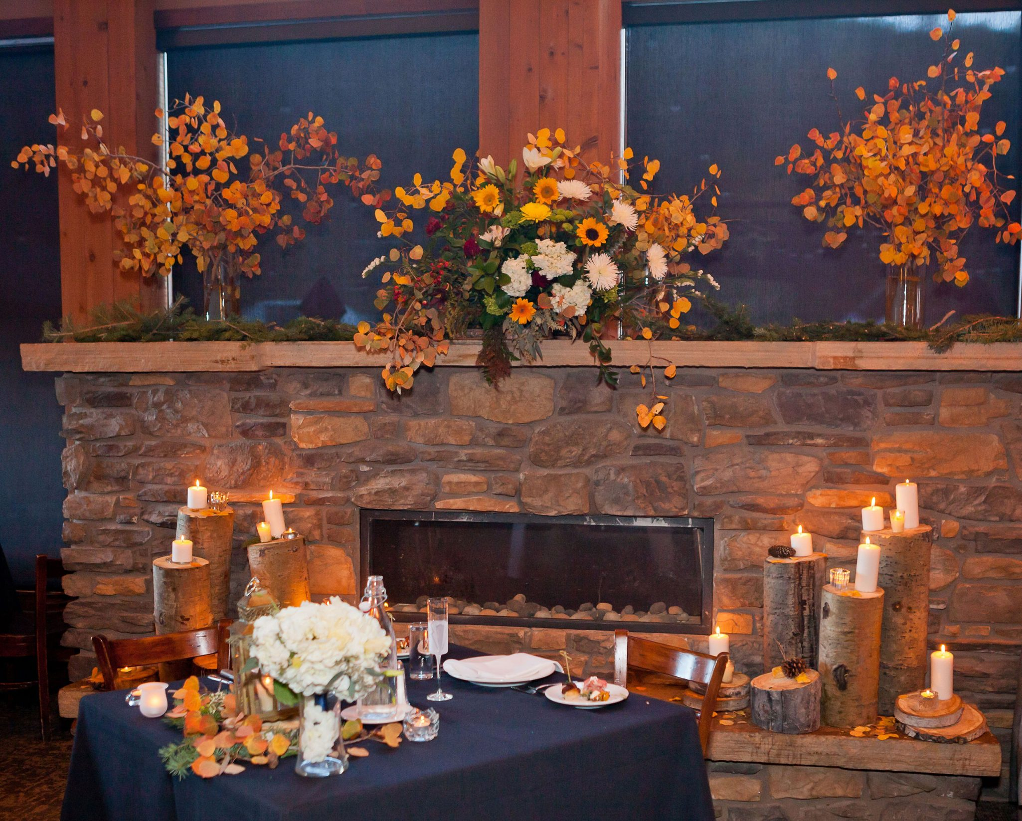 Wedding reception at Purgatory Resort, Durango CO