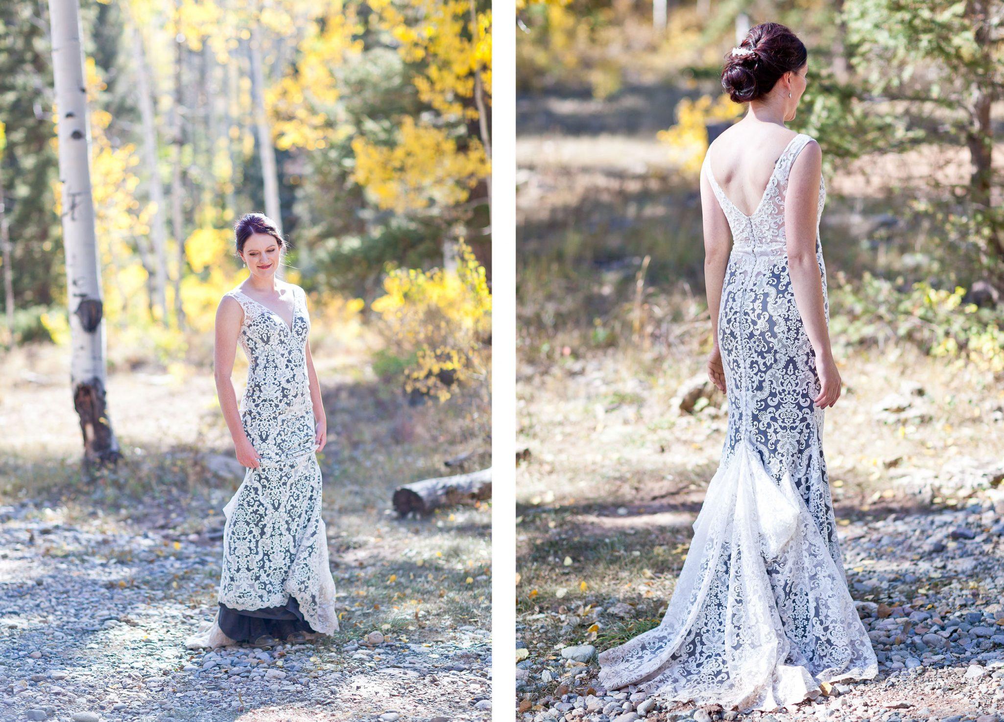 Durango, Colorado bride