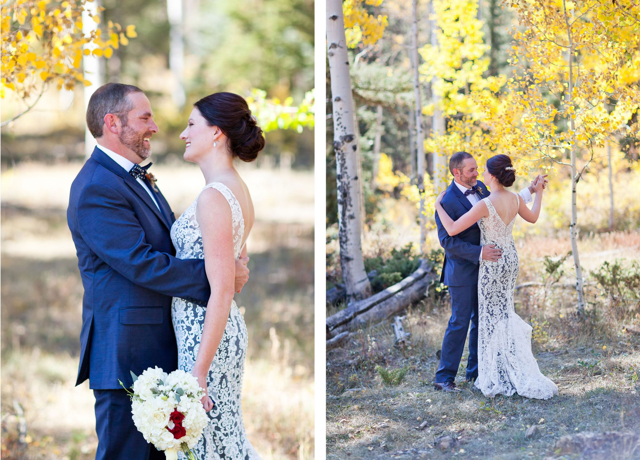 A Fall wedding at Purgatory Resort, Durango, Colorado