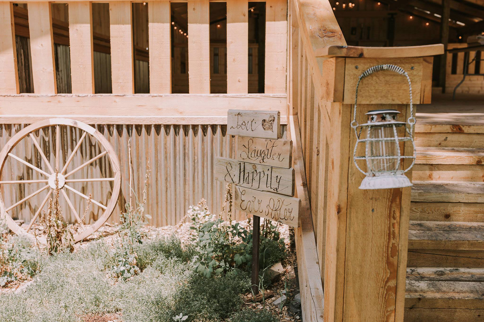 Rustic touches at Paradise Ranch in Pagosa Springs, Colorado