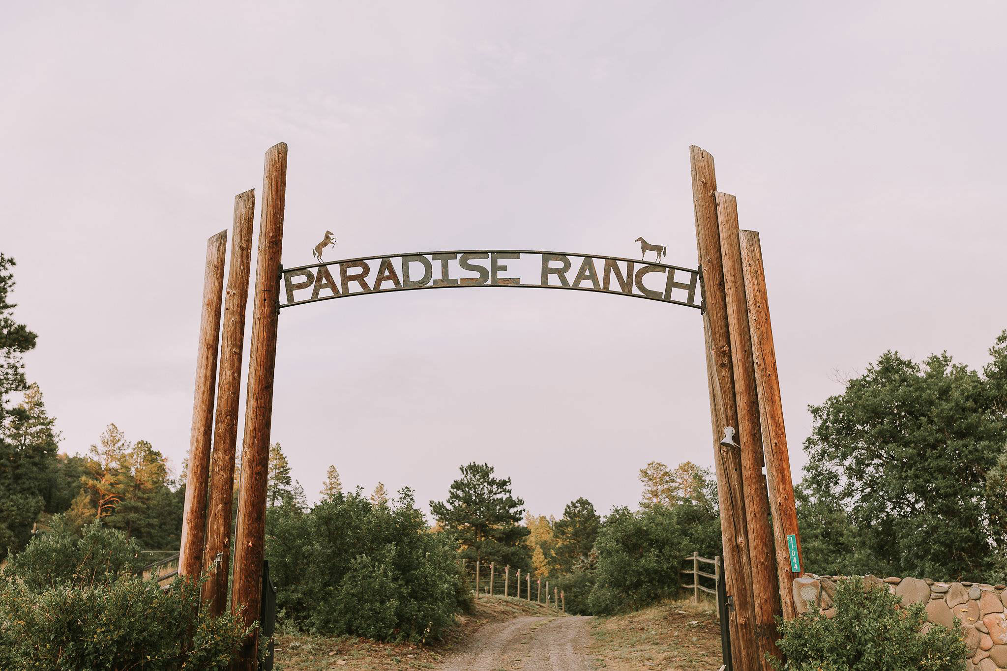 Wedding at Paradise Ranch in Pagosa Springs, Colorado