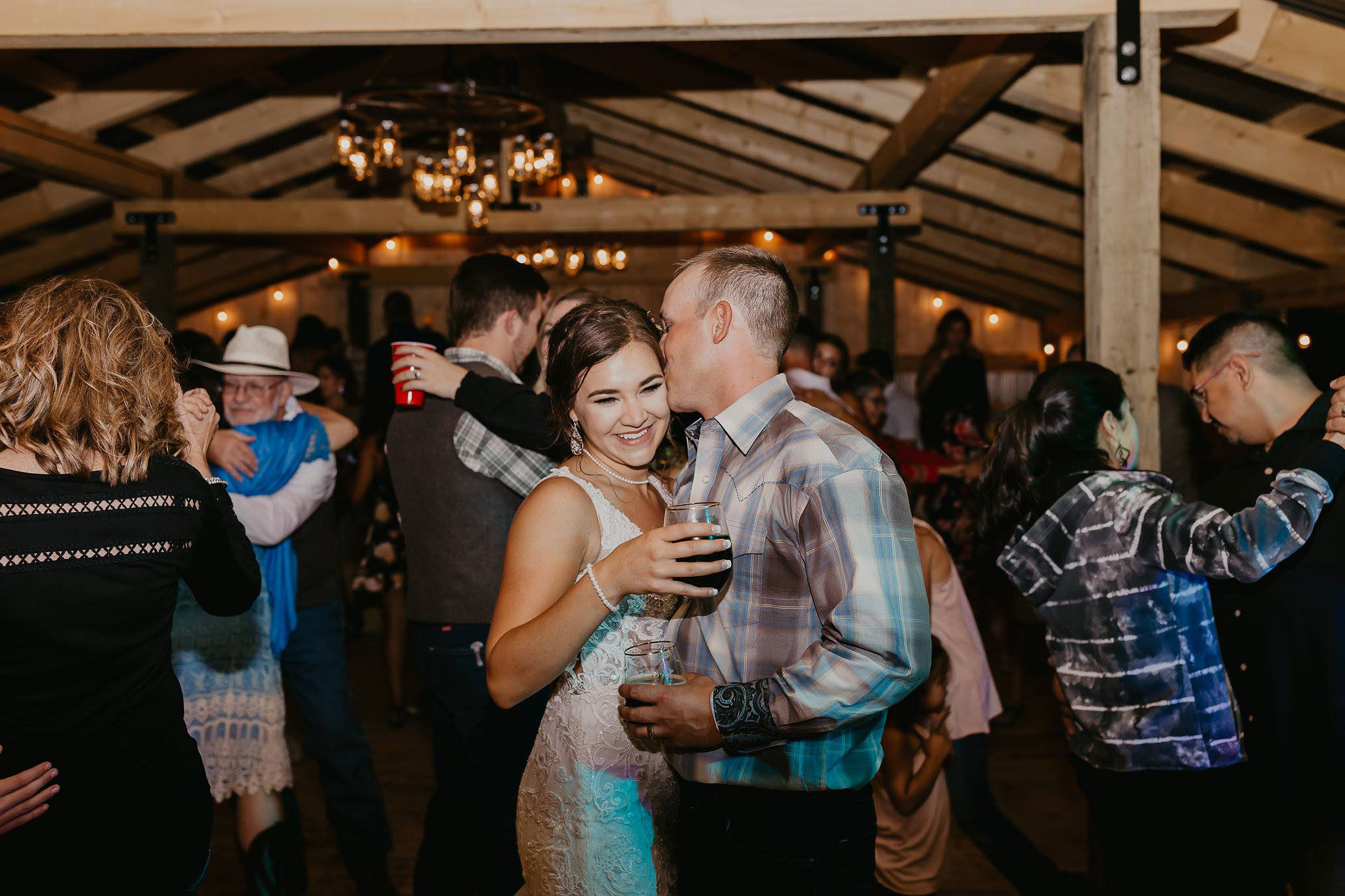 Dancing in the pavilion at Paradise Ranch in Pagosa Springs, Colorado