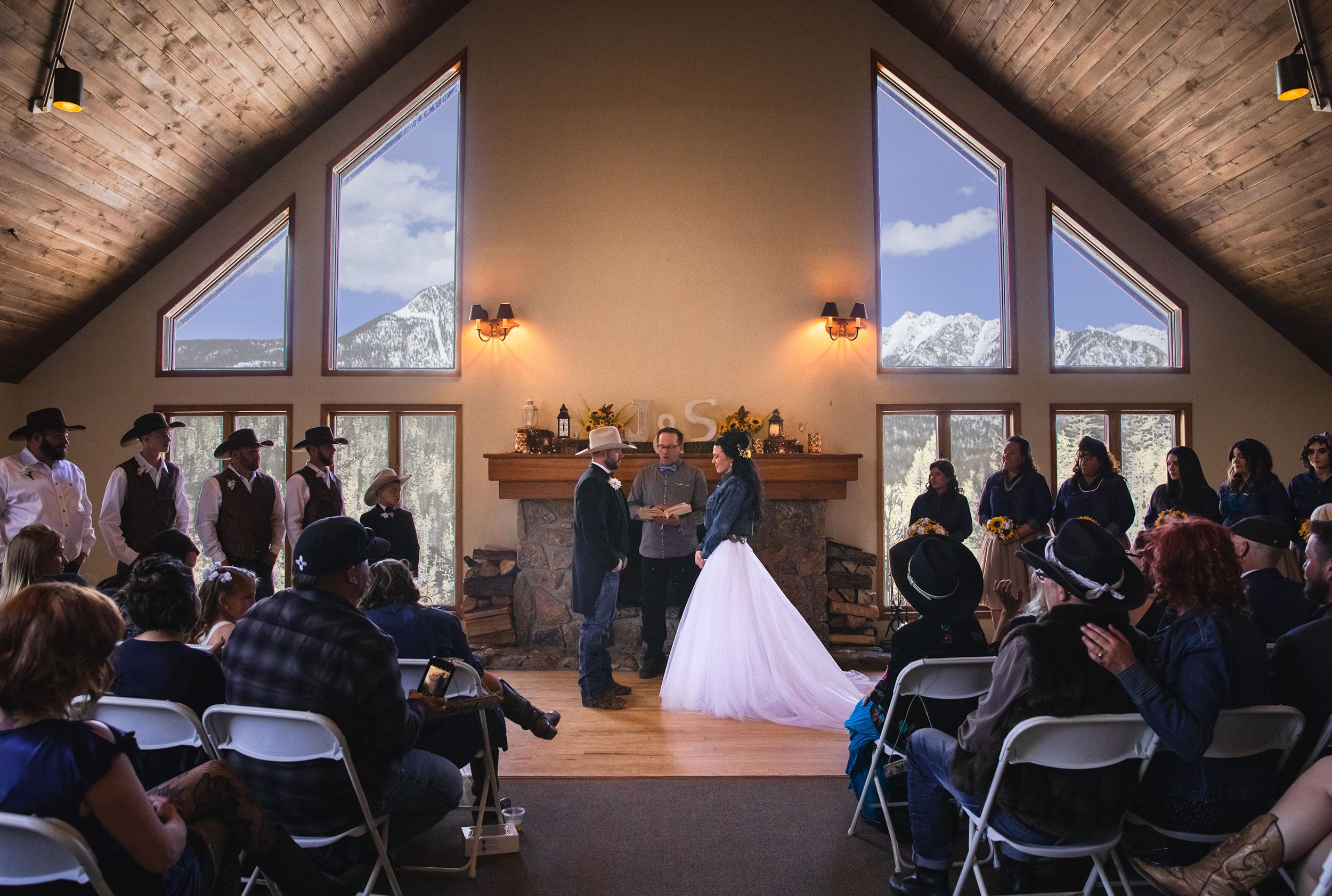 Cascade Village Ceremony, Durango Colorado
