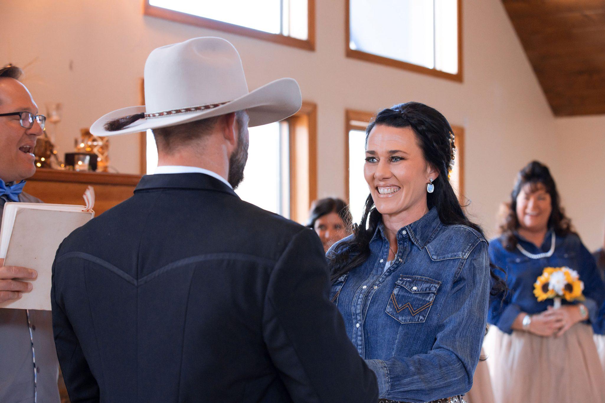 Country ceremony at Cascade Village, Durango Colorado