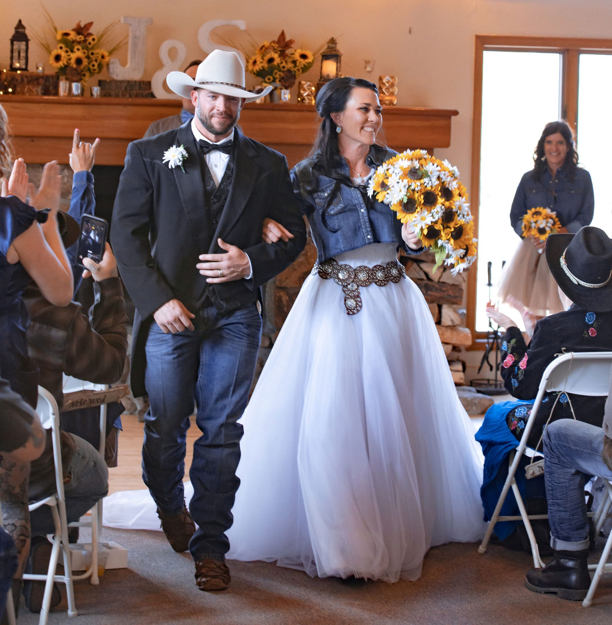 Country ceremony at Cascade Village, Durango Colorado