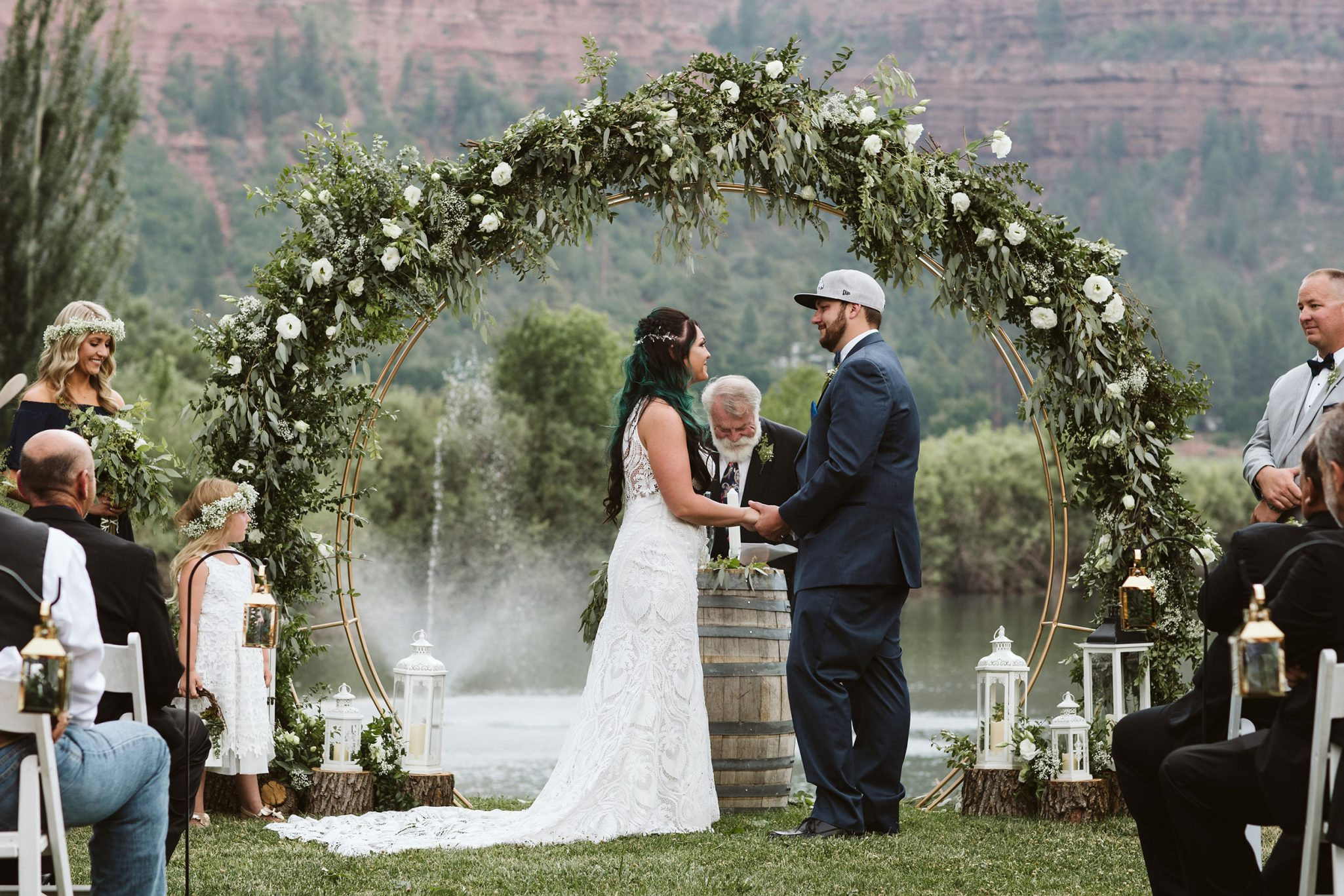 Ceremony at River Bend Ranch, Durango