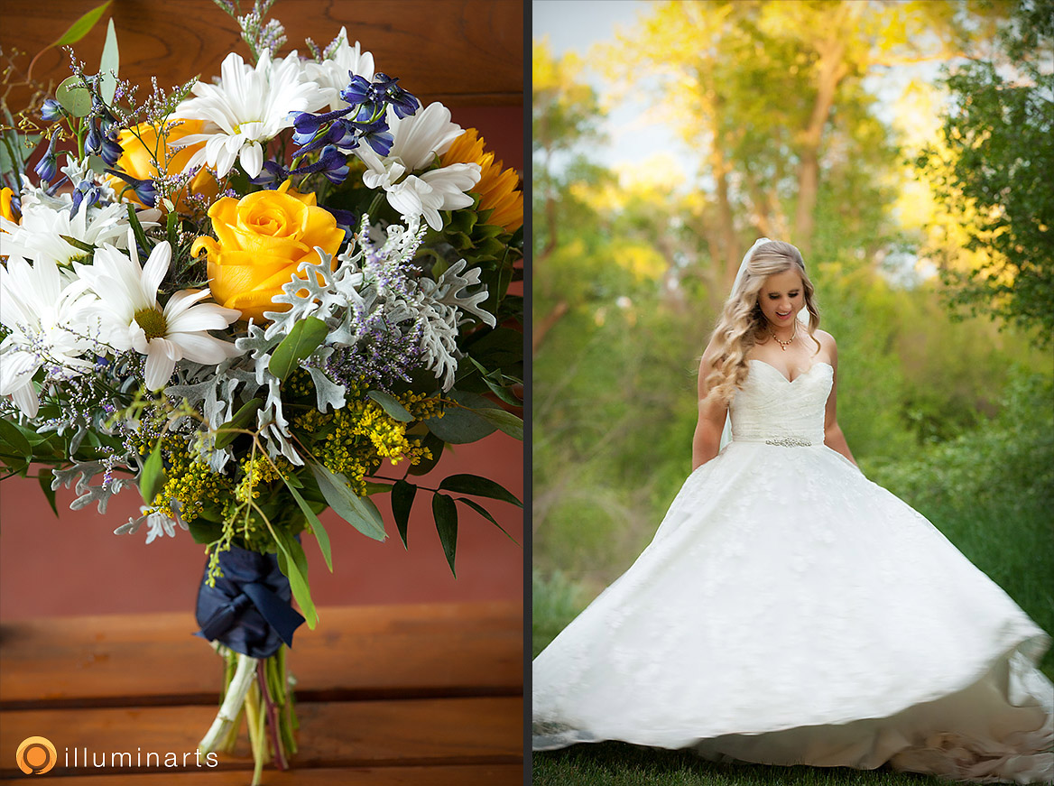 Flowers + Bride Earthy & Simple Wedding at Ridgewood -