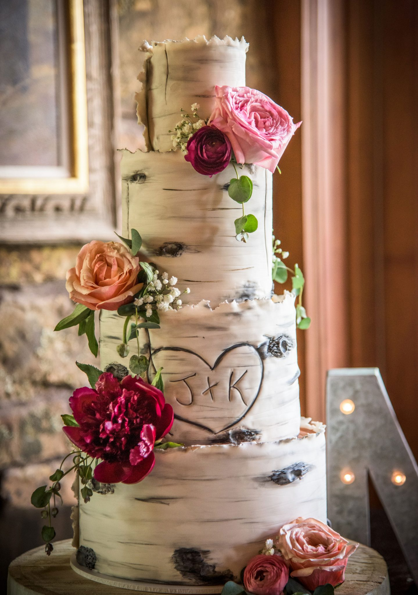 Aspen-inspired Wedding Cake | Durango Weddings Magazine