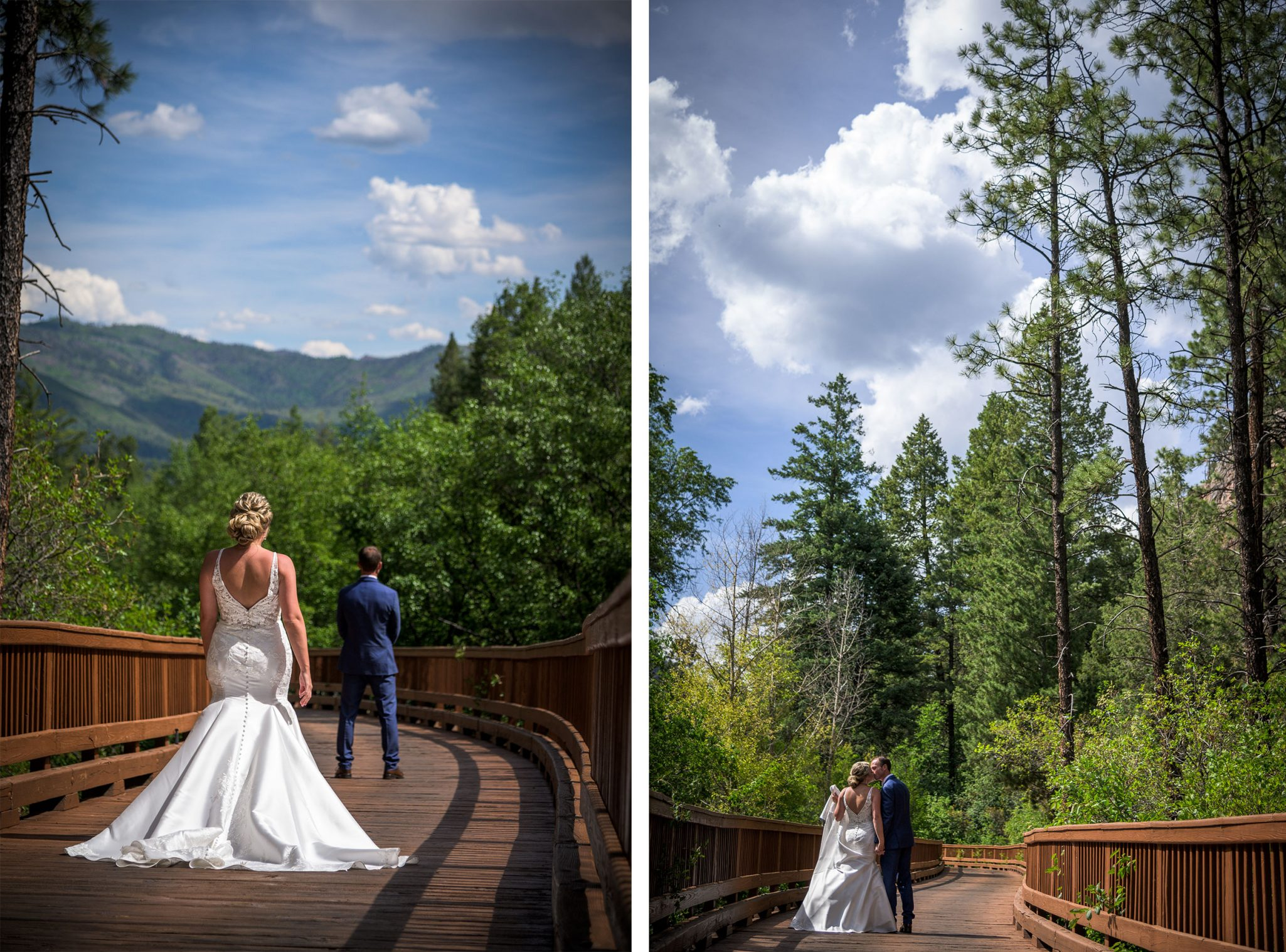 First Look | Texans Get Their Dream Mountain Wedding in Durango, Colorado
