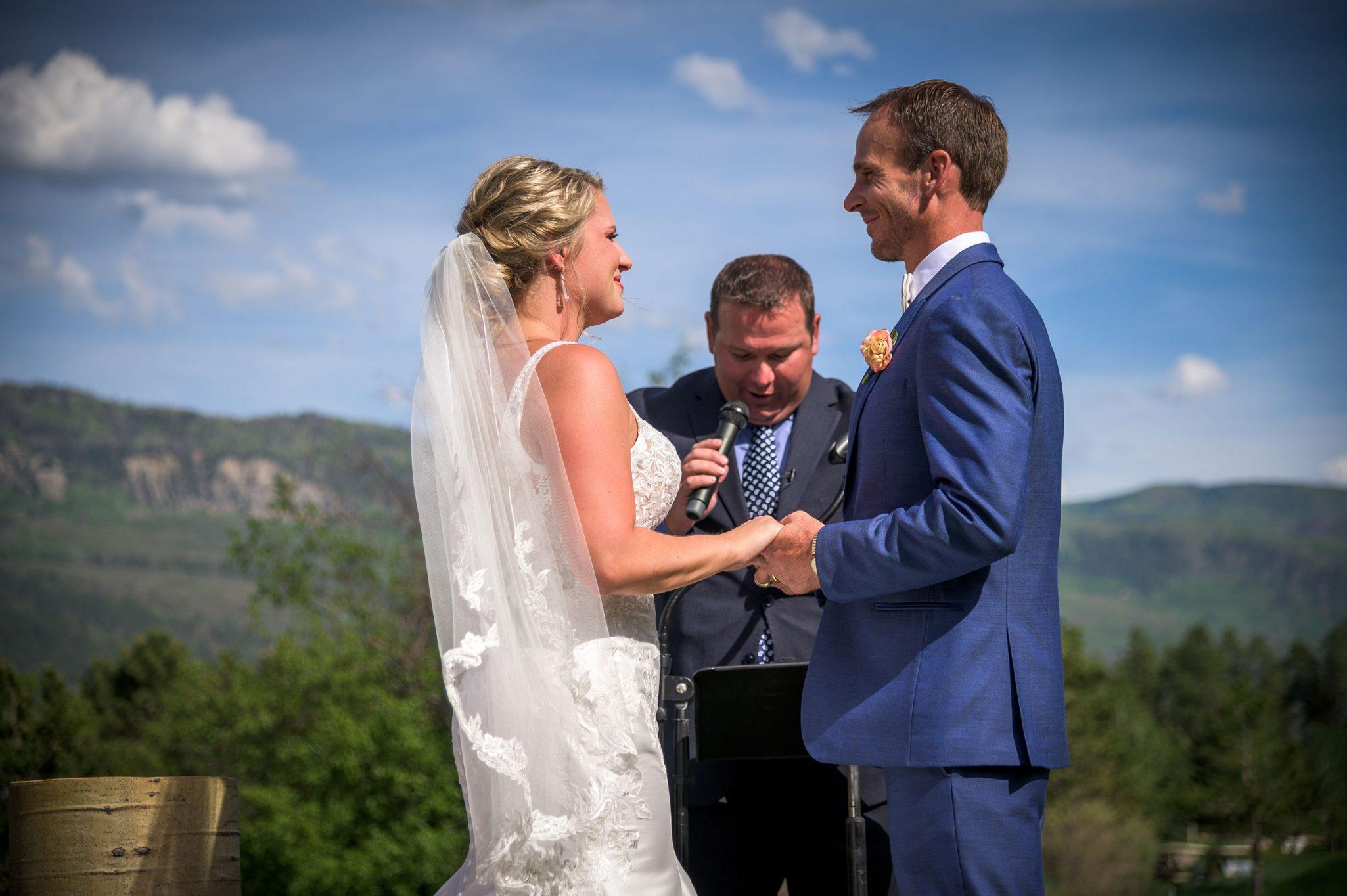 Mountain wedding ceremony | Durango Weddings Magazine