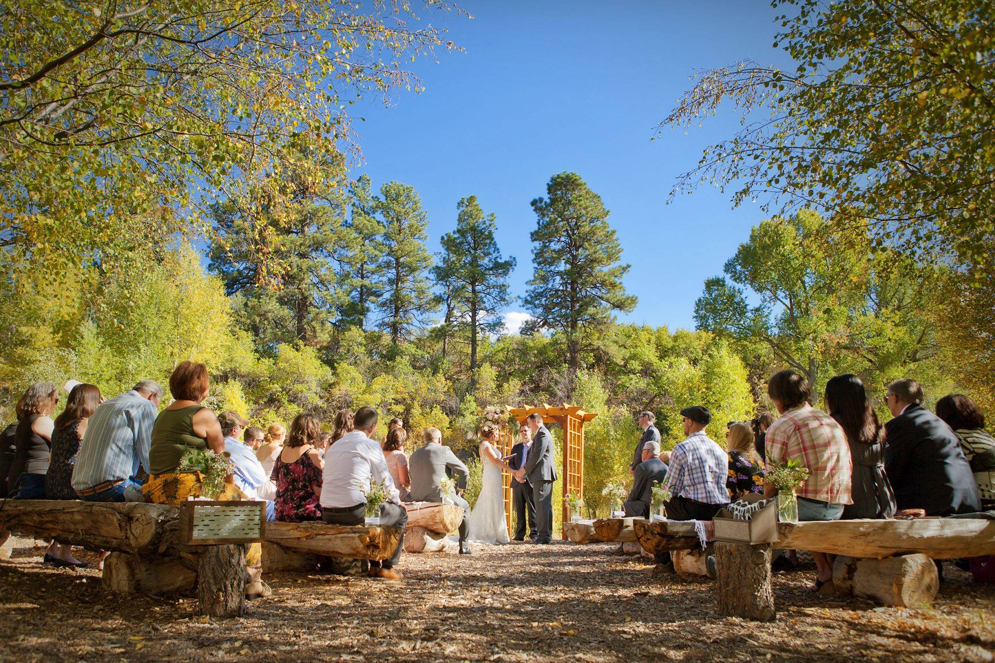 Ceremony at Ridgewood Event Center, Durango
