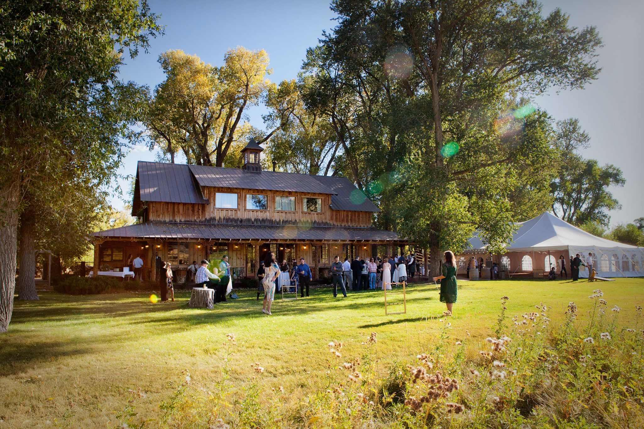 Wedding reception at Ridgewood Event Center, Durango