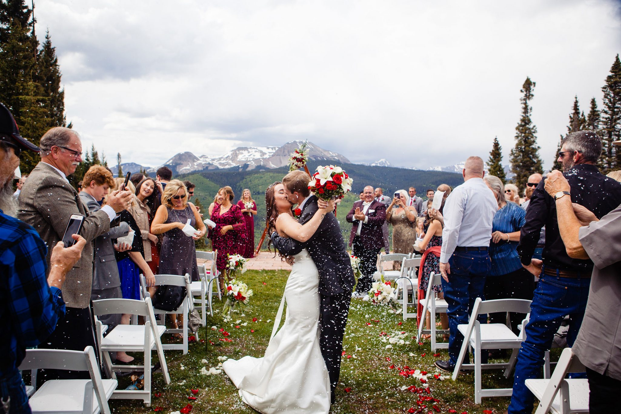 Just married at Purgatory Resort | Durango Weddings Magazine