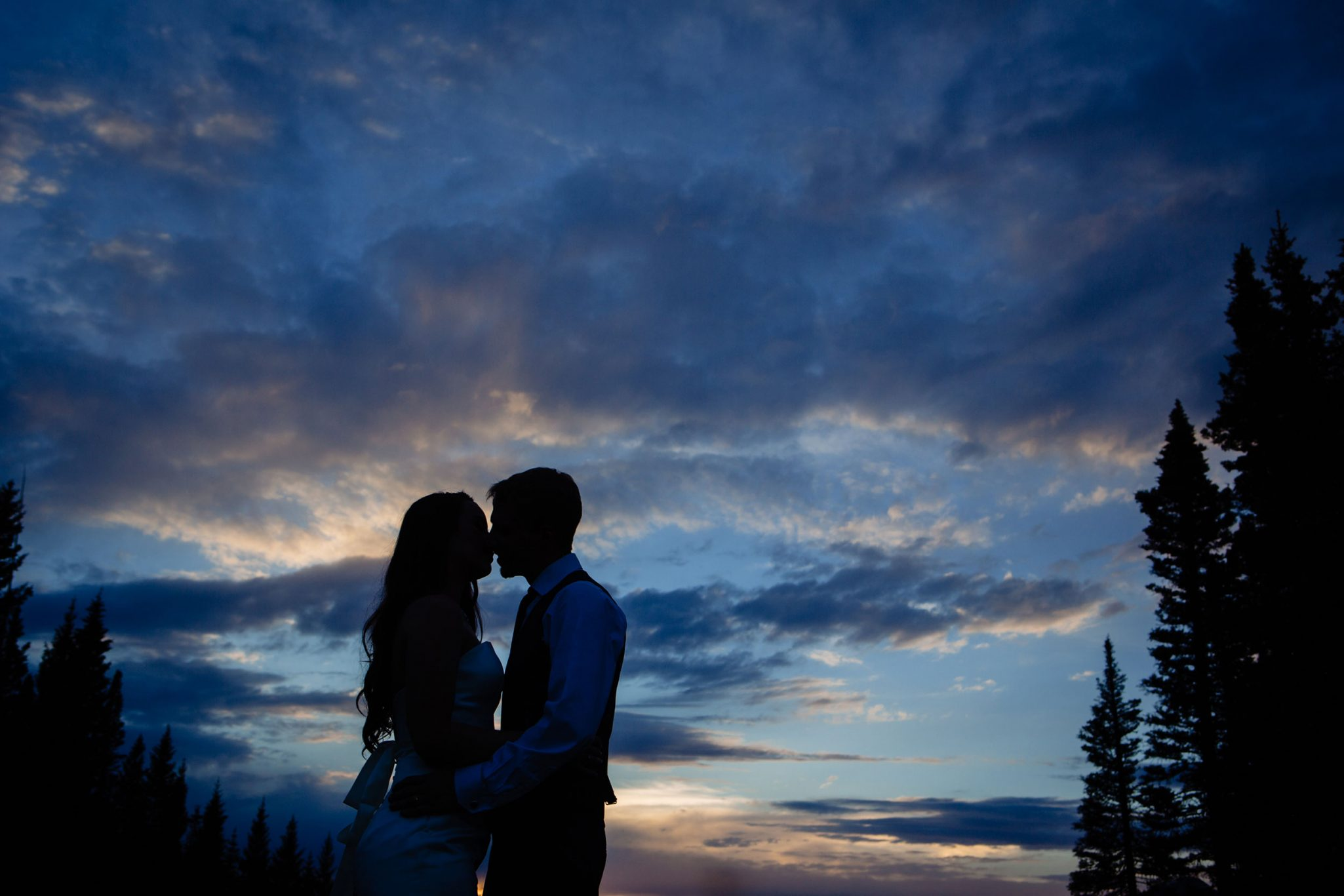 Couple at Purgatory Resort | Durango Weddings Magazine