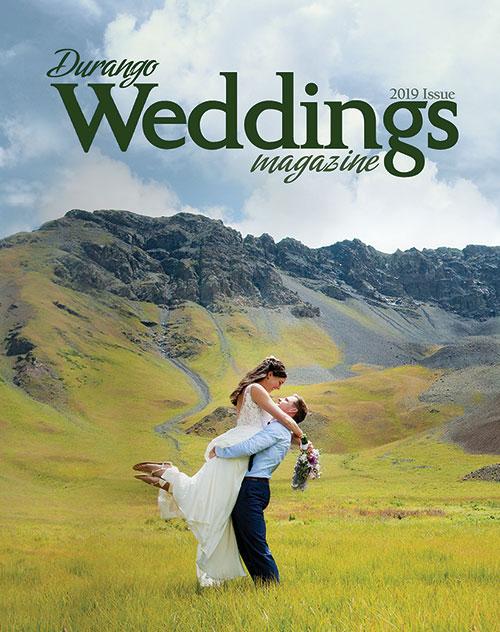 Durango Wedding Magazine - 2019 print issue