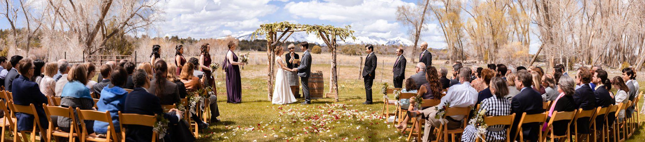 A spring wedding at Ridgewood Event Center by Kara Cavalca