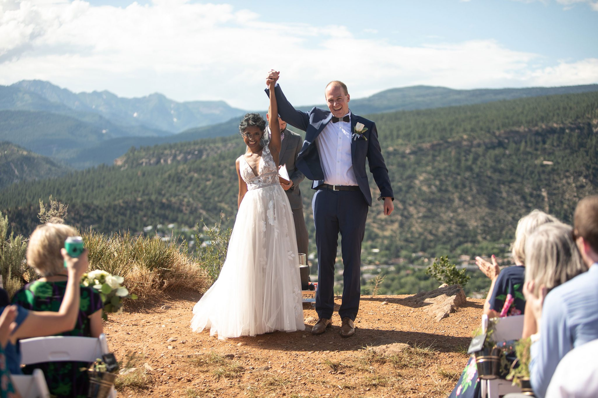 """Ceremony """"I do"""" in Durango, Colorado"""