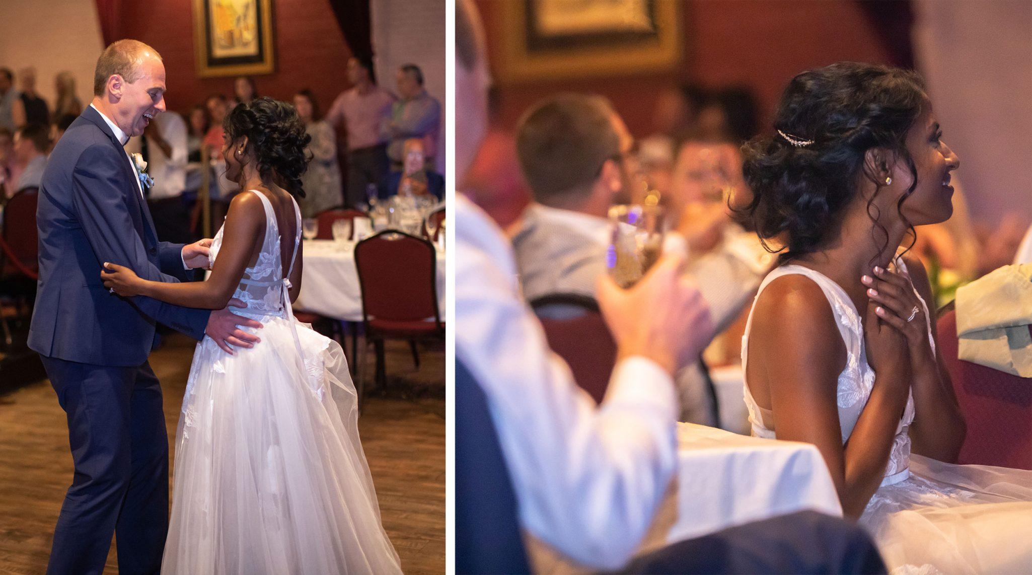 Wedding reception at The Strater Hotel, Durango, Colorado