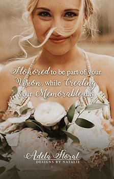 Adela Floral, Durango Colorado wedding floral designer