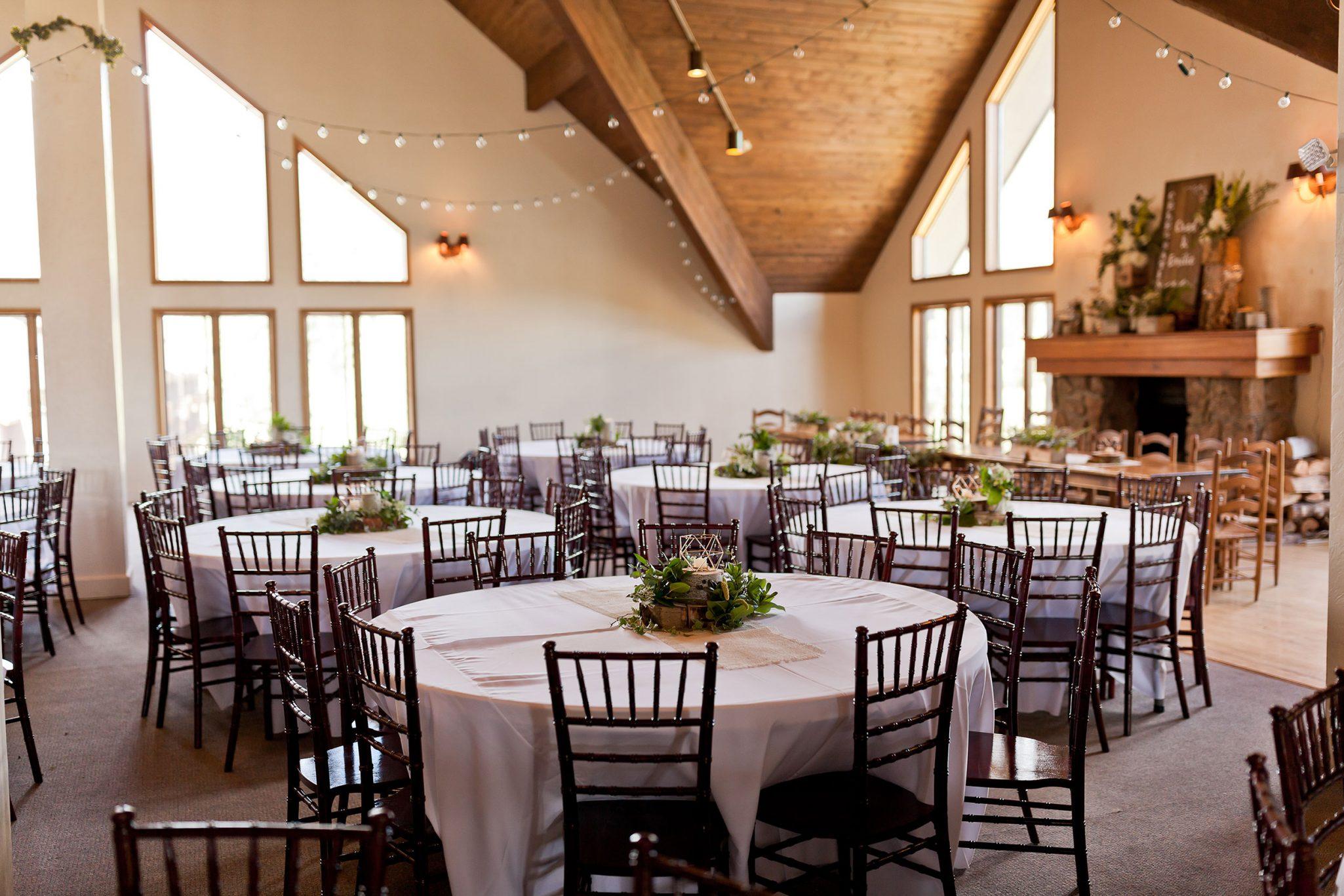 Cascade Village Wedding Reception Venue