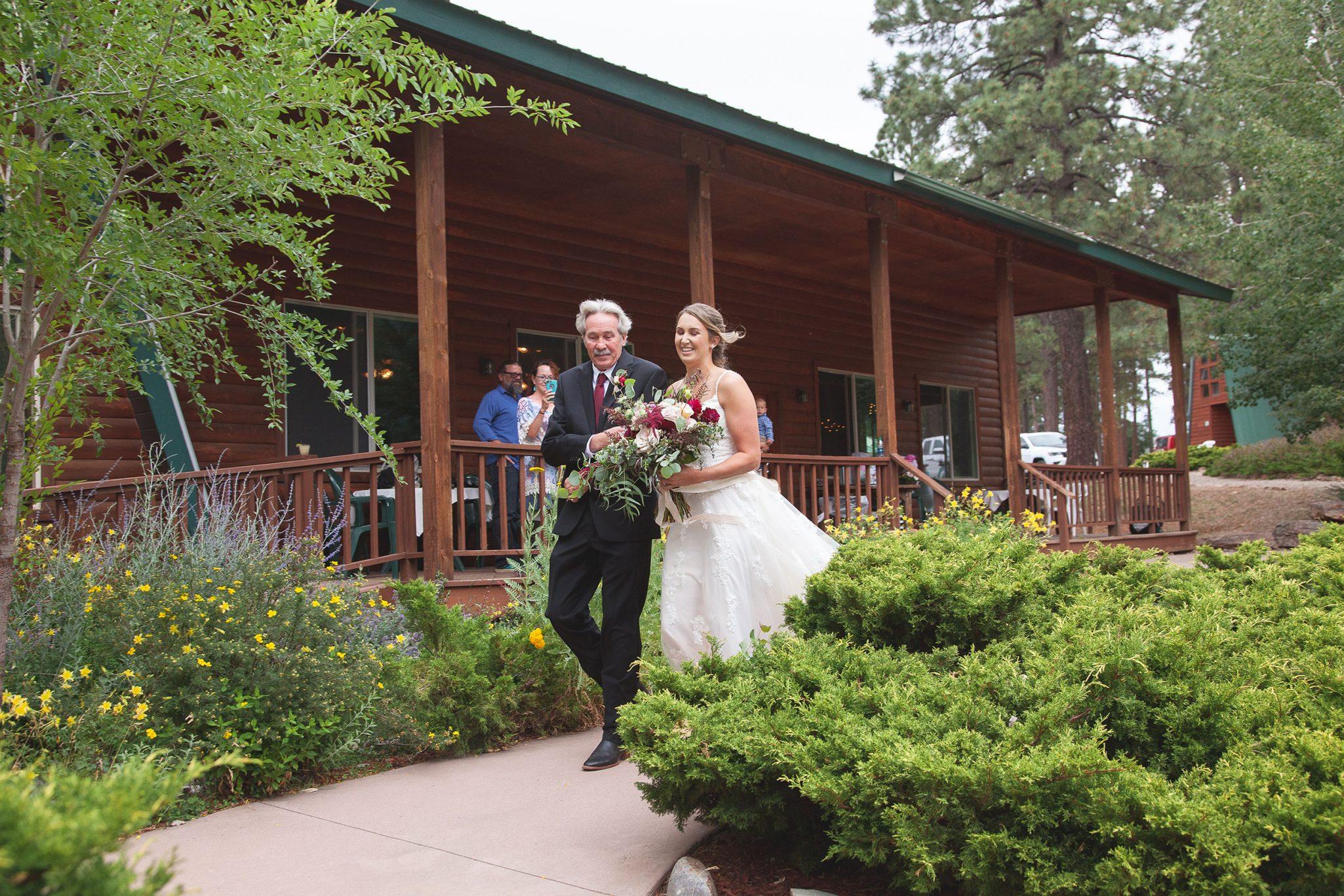 Ceremony at Echo Basin Ranch, Colorado