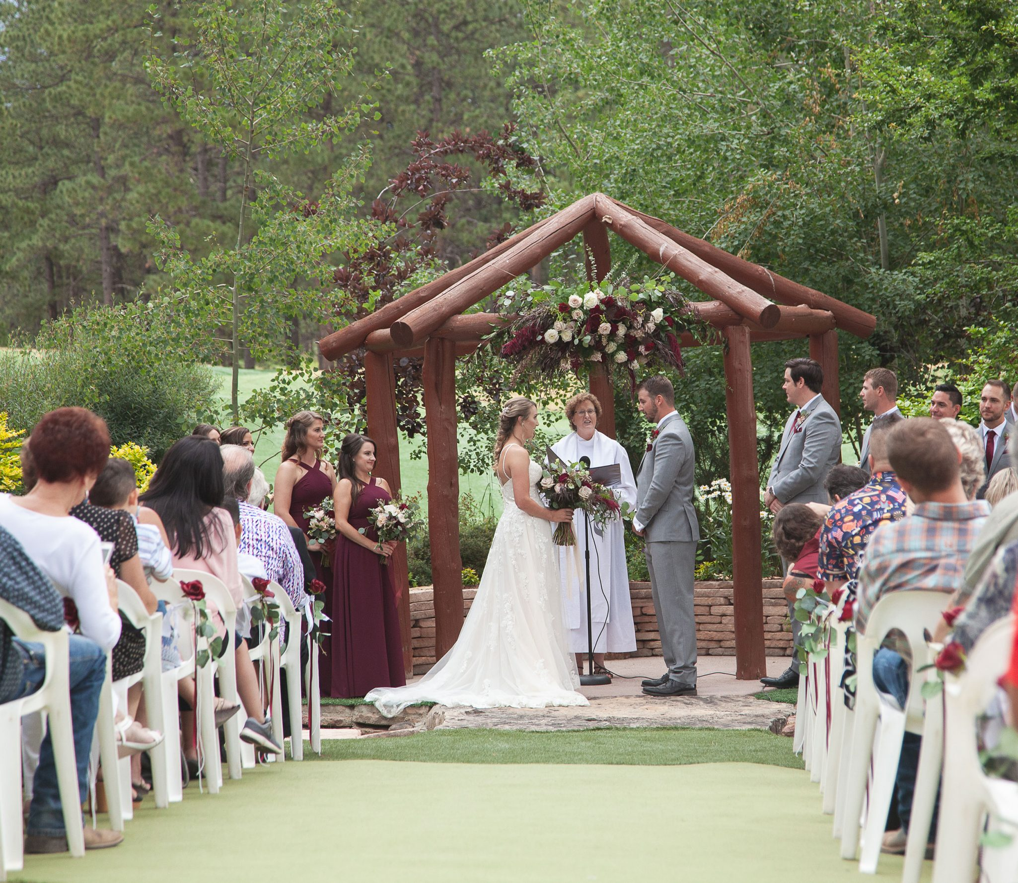 Ceremony at Echo Basin Ranch, Colorado