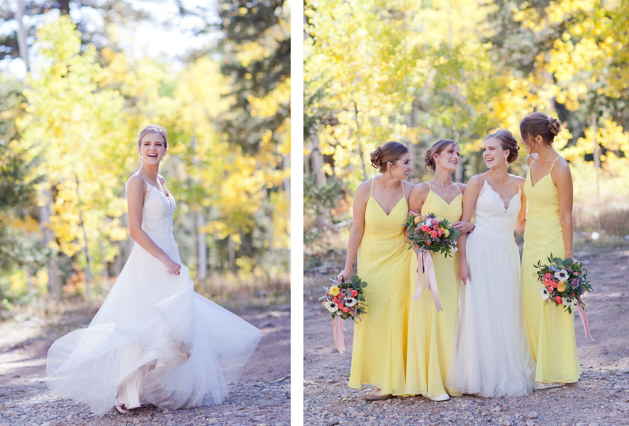 Bride Tribe in yellow