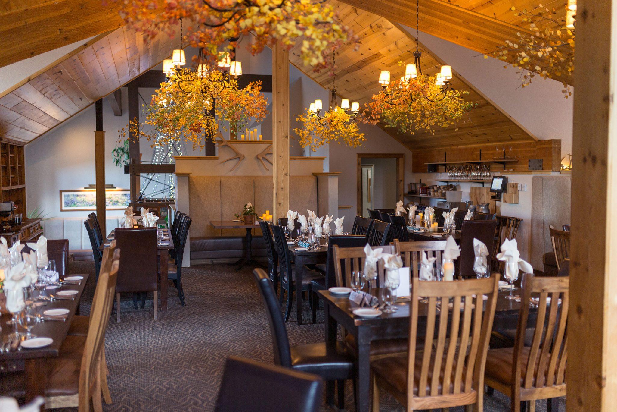 Wedding Reception at Silverpick Lodge, Durango, Colorado