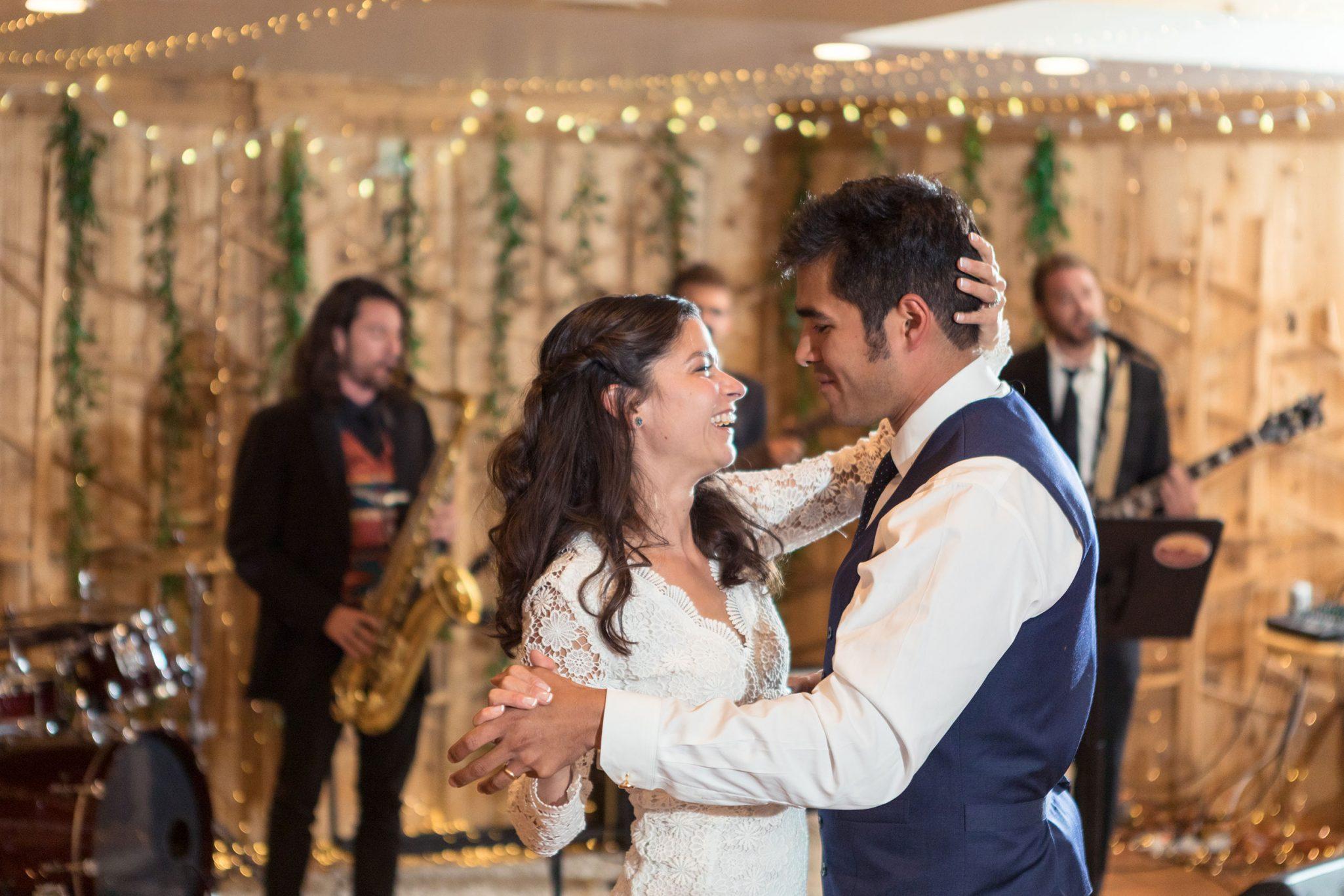 Wedding Reception Dancing at Silverpick Lodge, Durango, Colorado