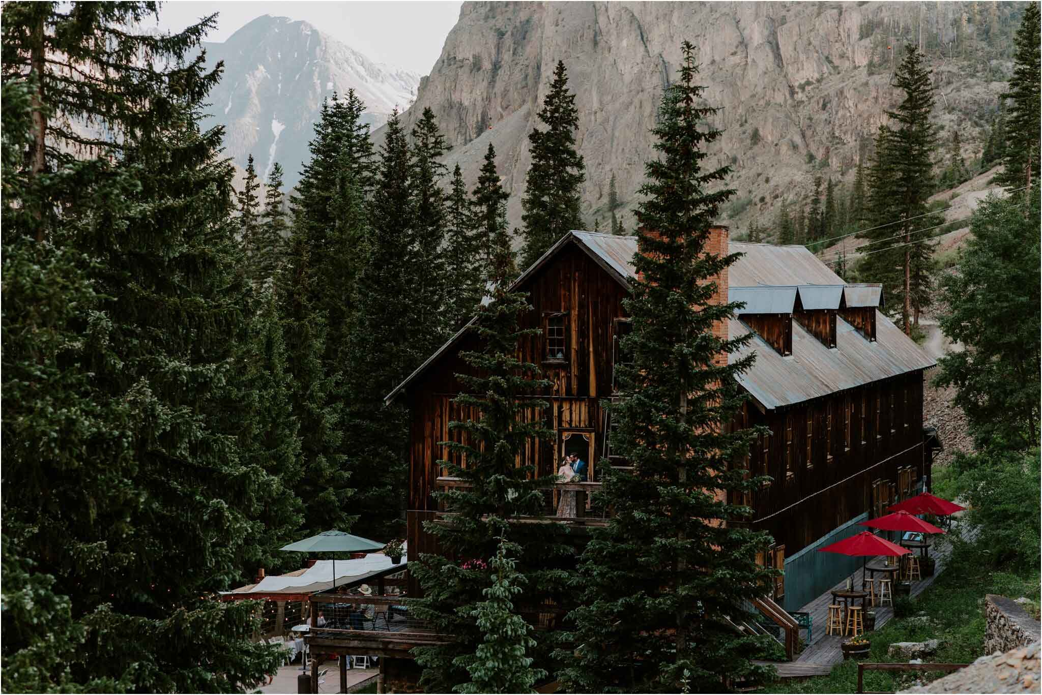 Eureka Lodge wedding venue, Silverton Colorado