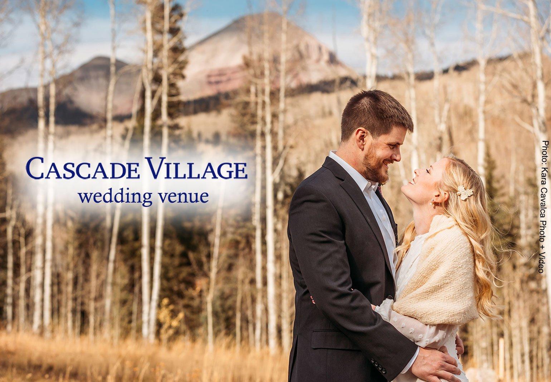 Cascade Village Wedding Venue, Durango Colorado