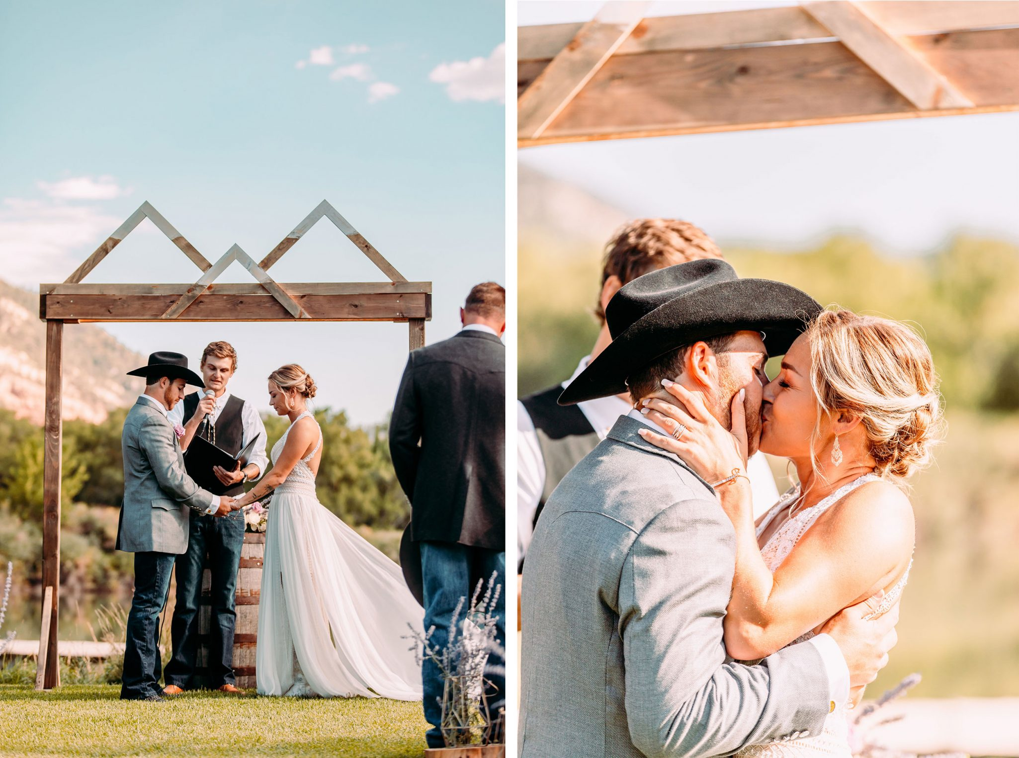 Ceremony at River Bend Ranch