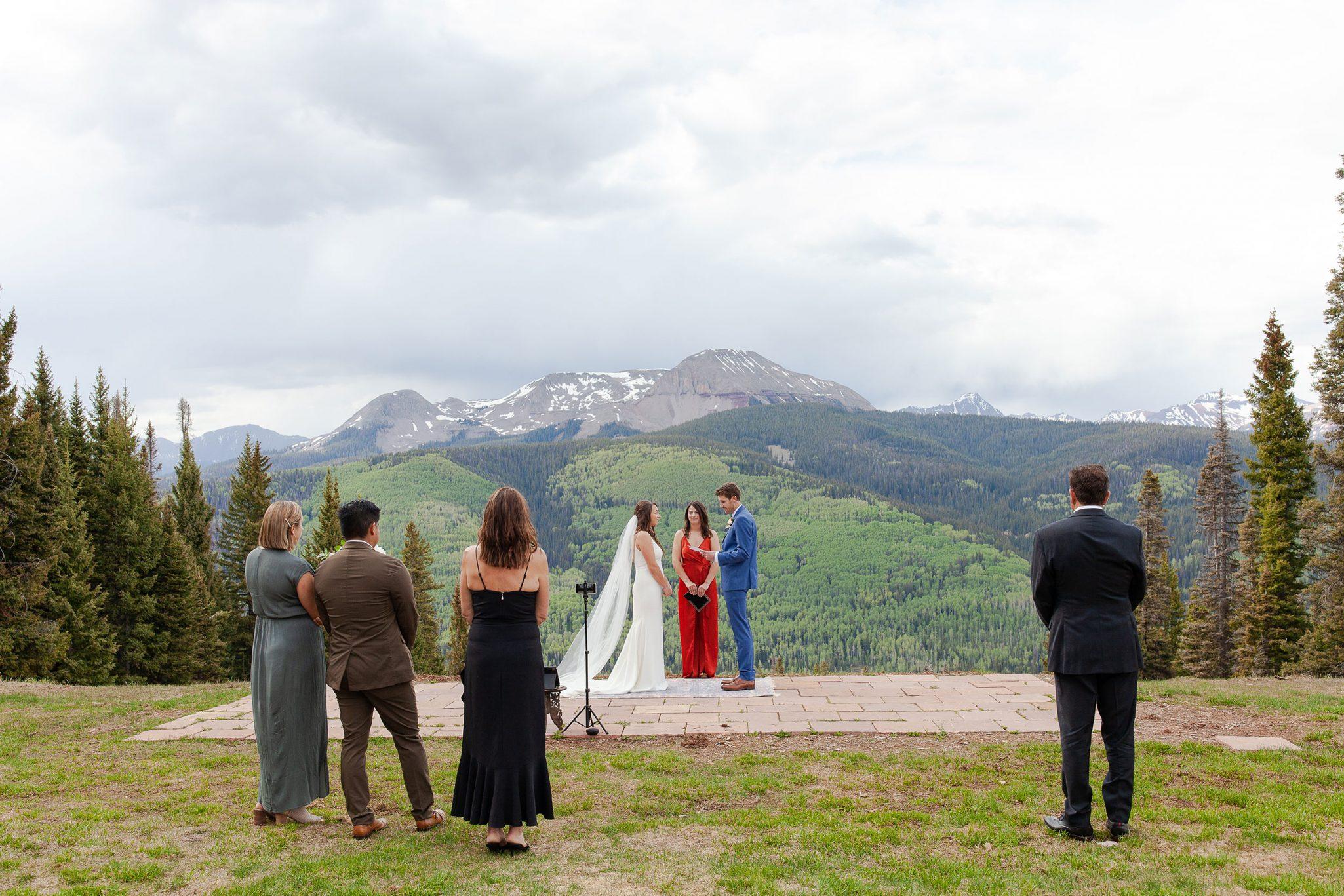 Ceremony at Purgatory Resort Colorado