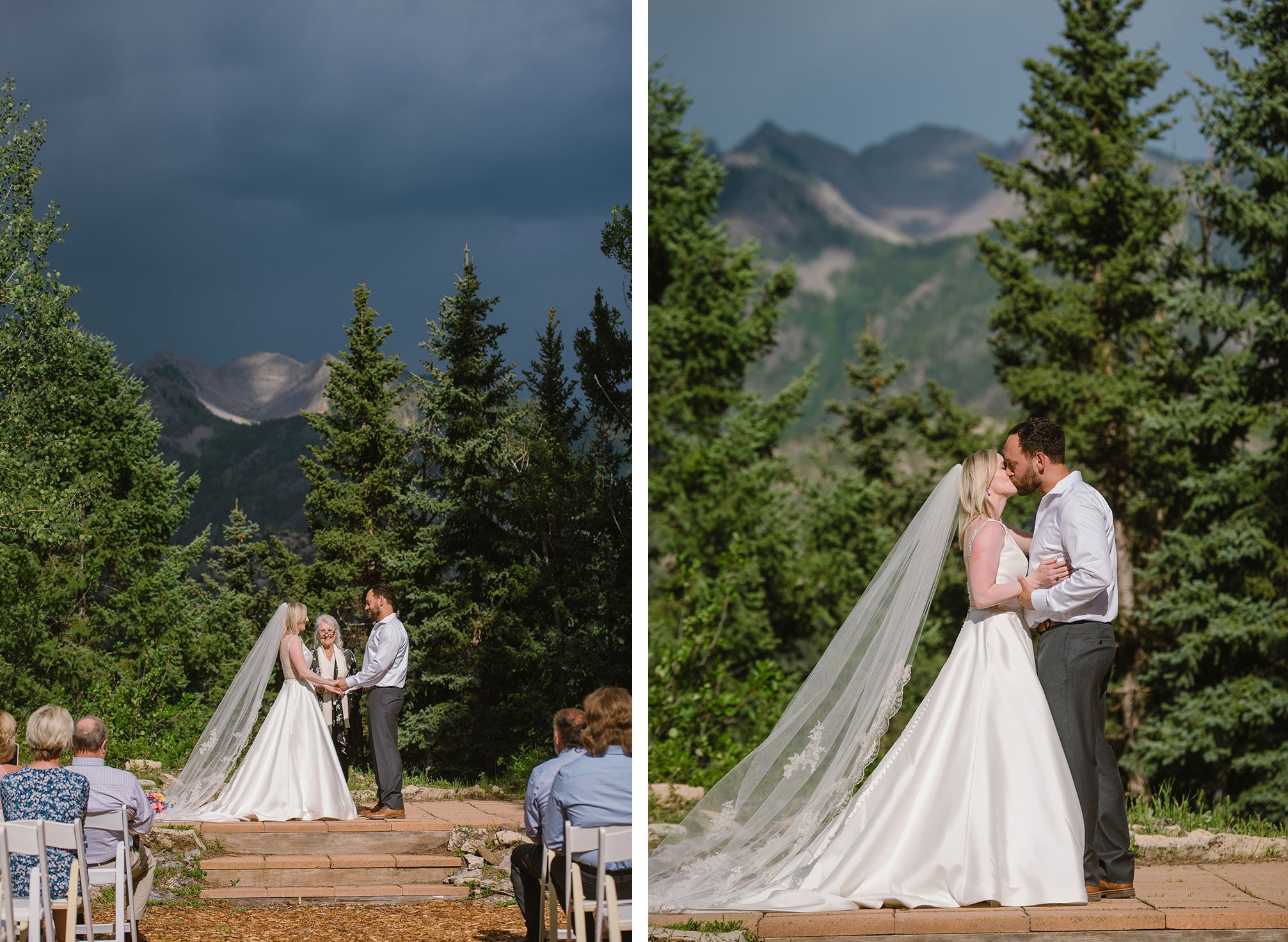 Ceremony at Purgatory Resort, Durango Colorado