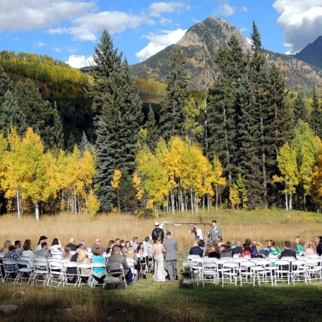 Weddings at Cascade Village, Durango Colorado