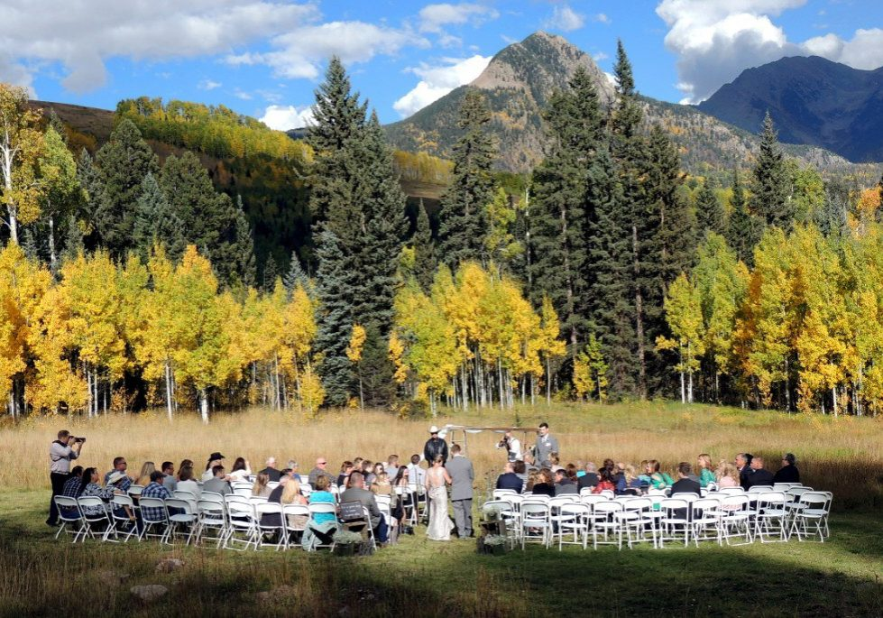 Weddings at Cascade Village, Durango Colorado