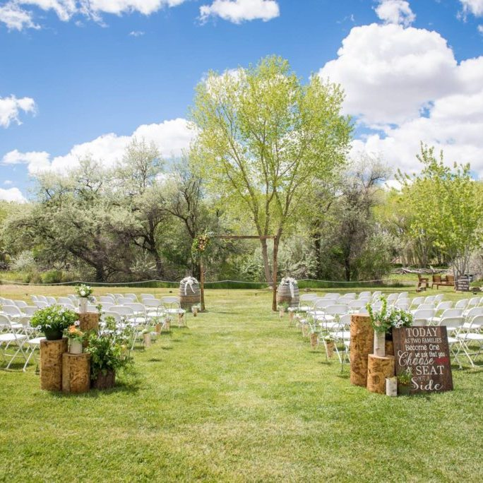 Weddings at Enchanted Celebrations, Aztec, New Mexico