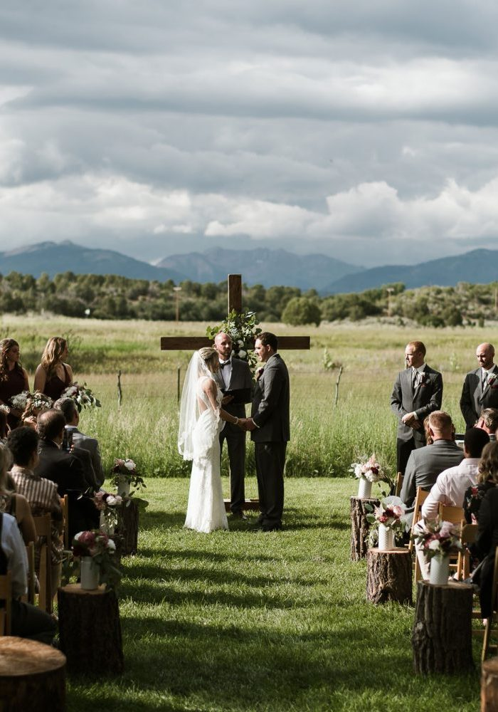 A Simple Wedding at Ridgewood Event Center, Durango, Colorado