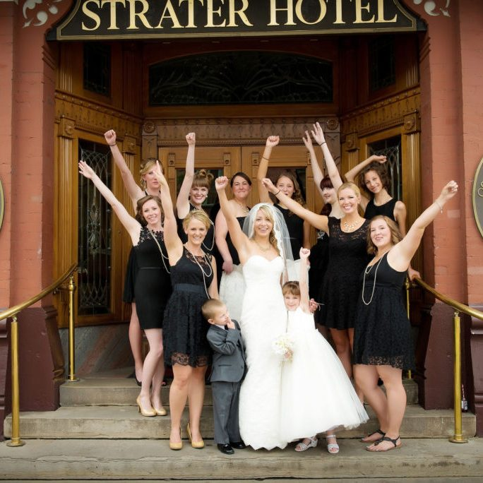 Weddings at The Strater Hotel, Durango, Colorado