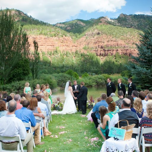 River Bend Ranch Wedding, Durango, Colorado