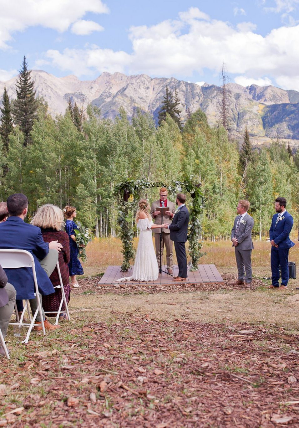 Ceremony at Cascade Village, Durango Colorado