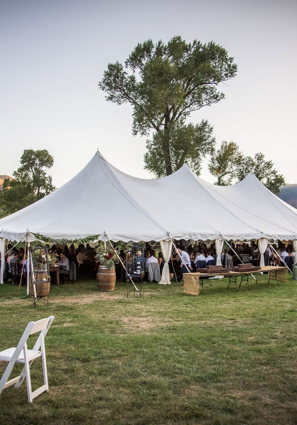 A Durango Tent Wedding
