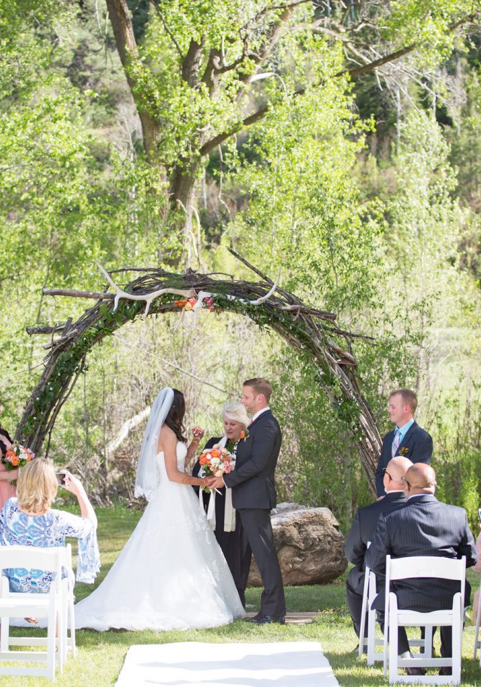 An Intimate Wedding at Antlers on the Creek B&B, Durango Colorado wedding