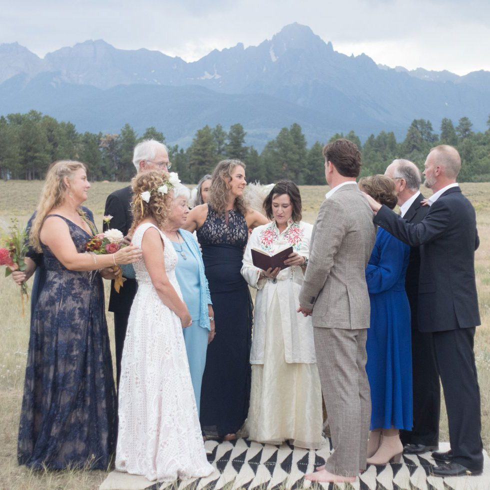 Jaime Becktel, Southwest Ceremony officiant, Durango, Colorado