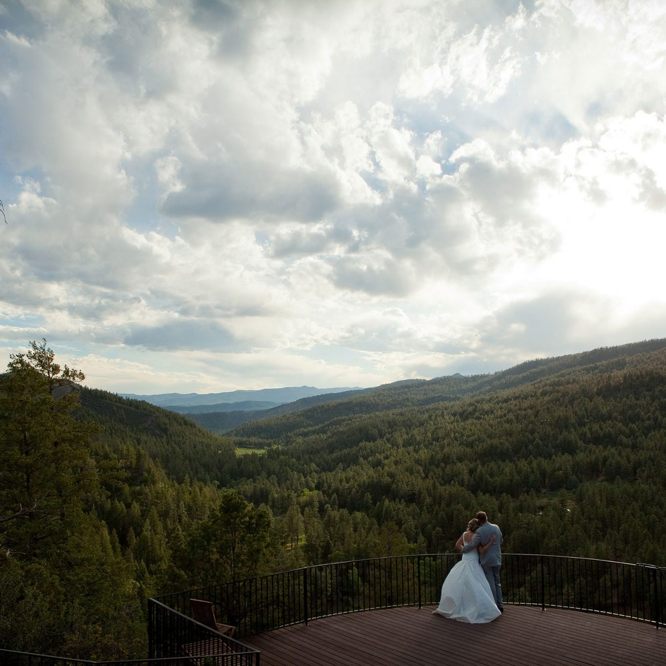 Colorado destination weddings at Keyah Grande, Pagosa Springs