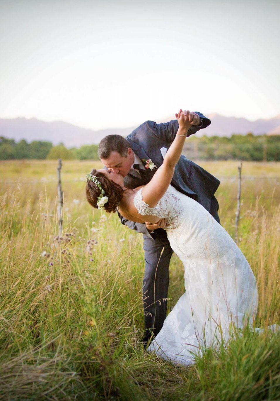 Durango, Colorado wedding couple