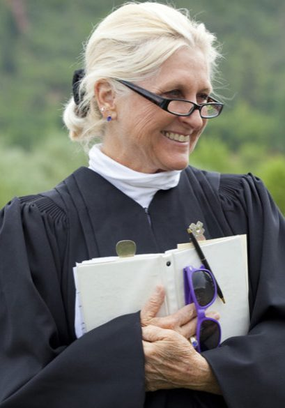 Rev Chessa Gill, Durango Officiant for weddings