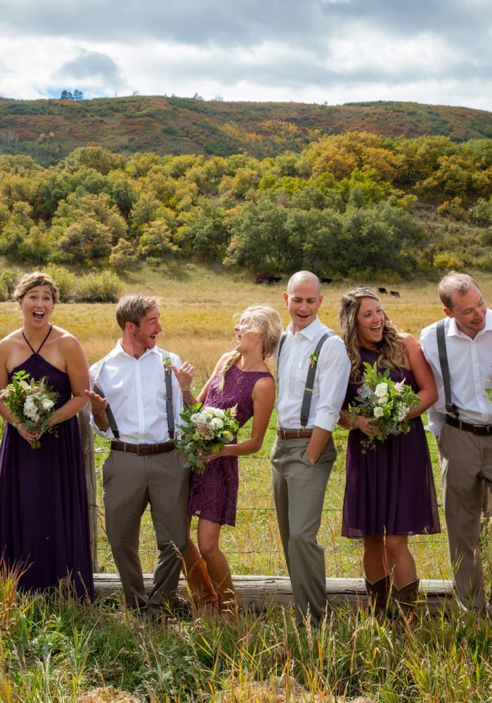 A Backyard Wedding in La Plata Canyon, Durango, Colorado
