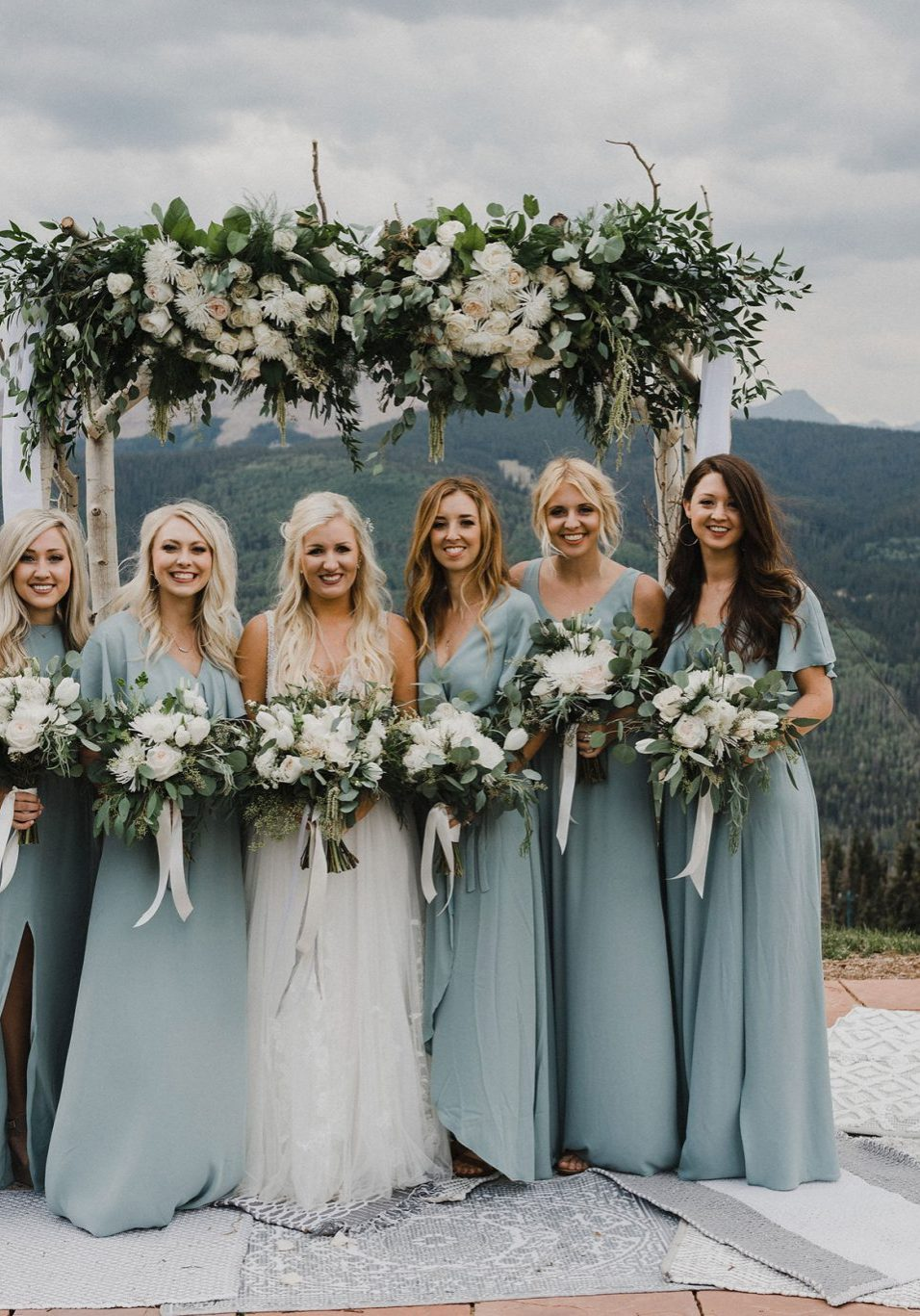 A Perfectly Simplistic Mountain Wedding at Purgatory Resort, Durango Colorado