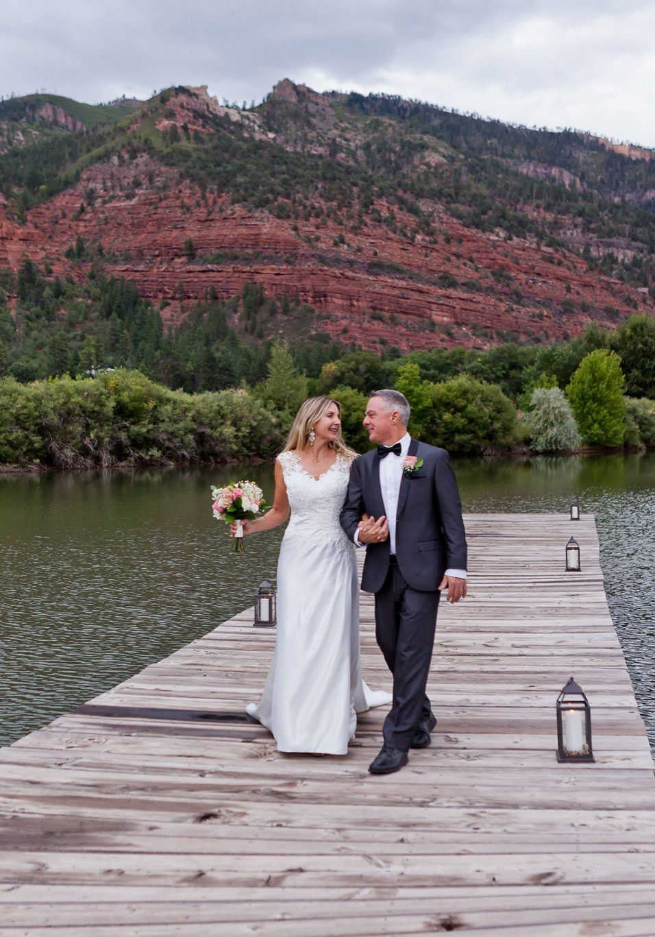 Wedding Reception at River Bend Ranch, Durango Colorado